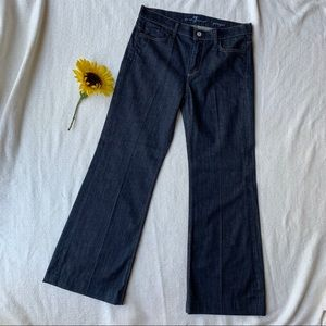 7 For All Mankind Ginger Dark Wash Jeans Size 29